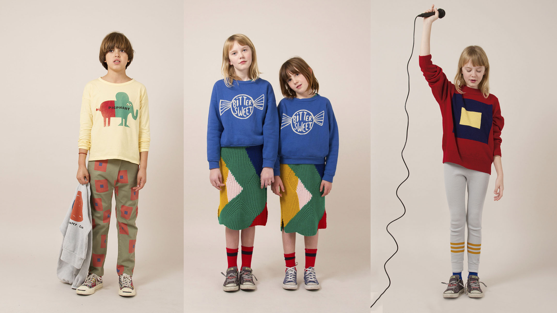 BOBO CHOSES AW18/19 THE HAPPYSADS