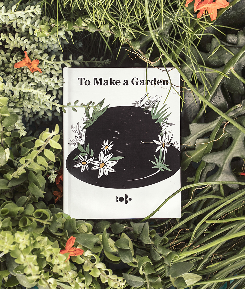 BOBO CHOSES TO MAKE A GARDEN PETIT BOOK