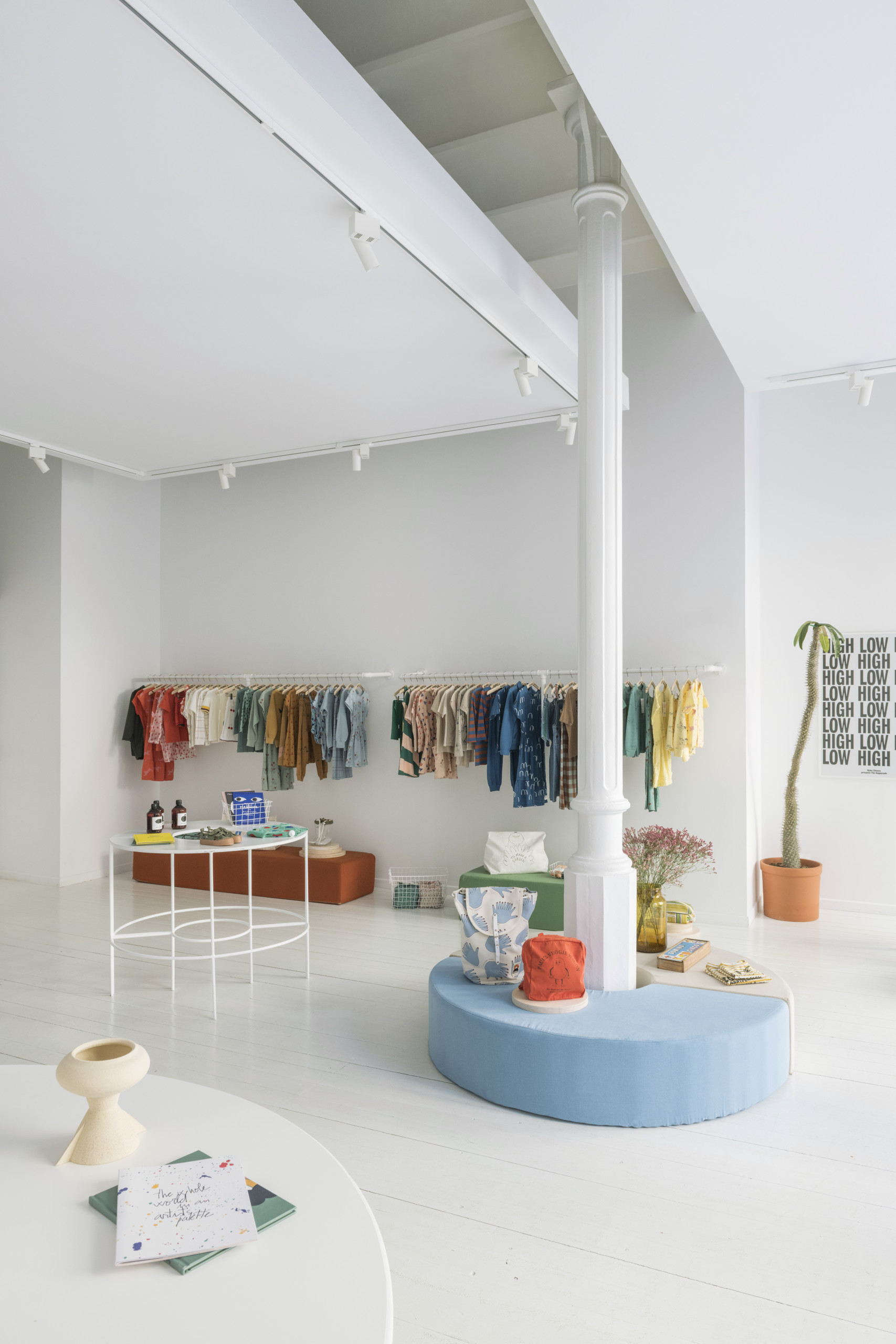 BOBO CHOSES THE HAPPYSADS RETAIL SPACE